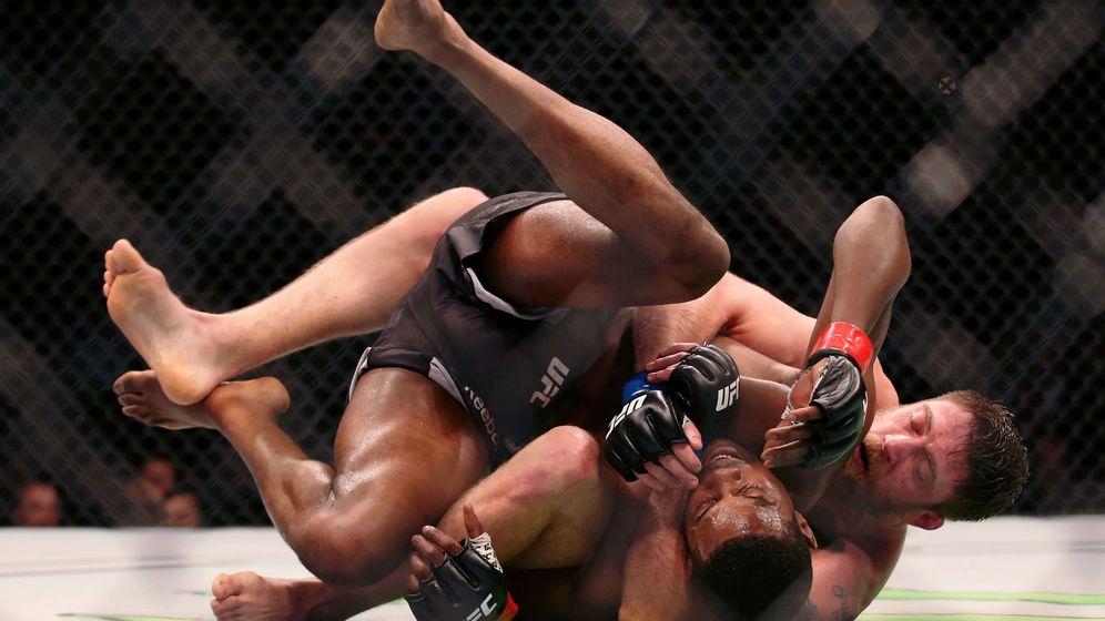 Foto: Uno de los combates de UFC Filadelfia. (USA TODAY Sports)