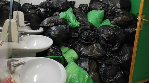 Denuncian la acumulación de residuos de covid-19 en una residencia de Madrid