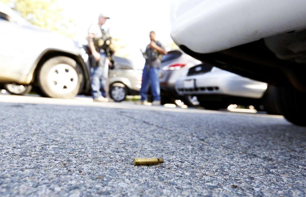 Foto: Un casquillo de bala encontrado en el lugar del tiroteo de San Bernardino, California, el 2 de diciembre de 2015 (Reuters)