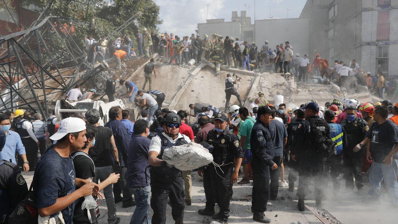 Foto: Fotos del terremoto en México de magnitud 7,1