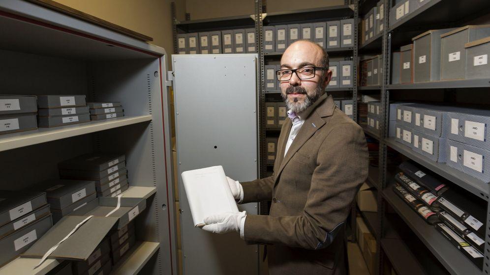 Foto: La Fundación Miguel Delibes ha tardado dos años en digitalizar todo el material. (Efe)