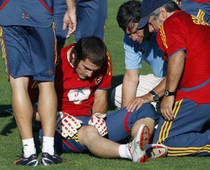Palop sustituye al lesionado Iker Casillas