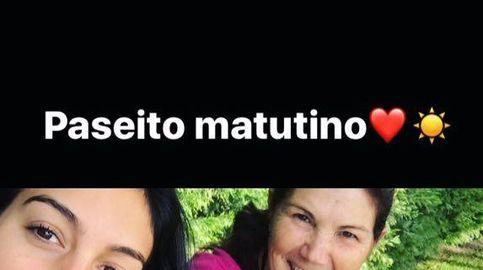 Georgina, novia de Cristiano Ronaldo, de paseo con su suegra: ¿no eran enemigas?