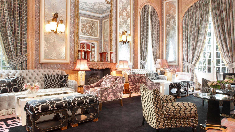 El salón chino del hotel Santo Mauro.