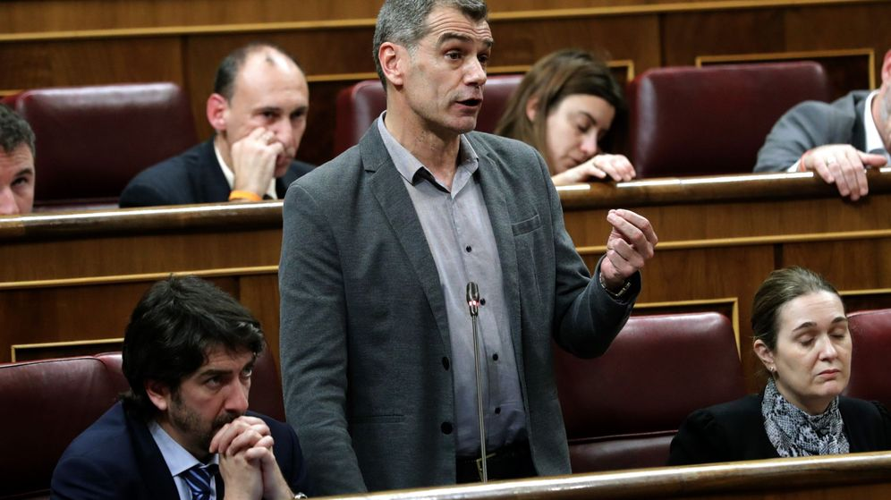 Foto: El diputado de Ciudadanos Toni Cantó. (EFE)