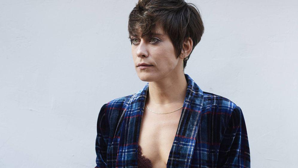 Foto: La actriz María León, vivo ejemplo del corte pixie. (Getty)
