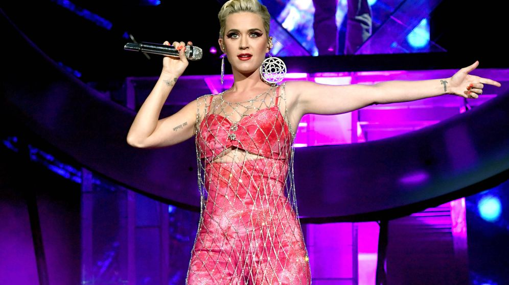 Foto: Katy Perry, este año en Coachella. (Getty)