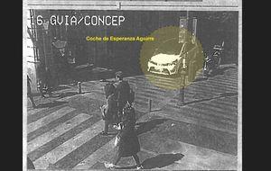 Las imágenes de la fuga de Esperanza Aguirre
