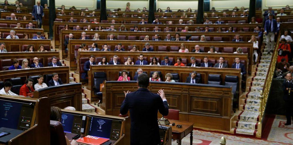 Foto: Primera jornada del debate de investidura. (EFE)