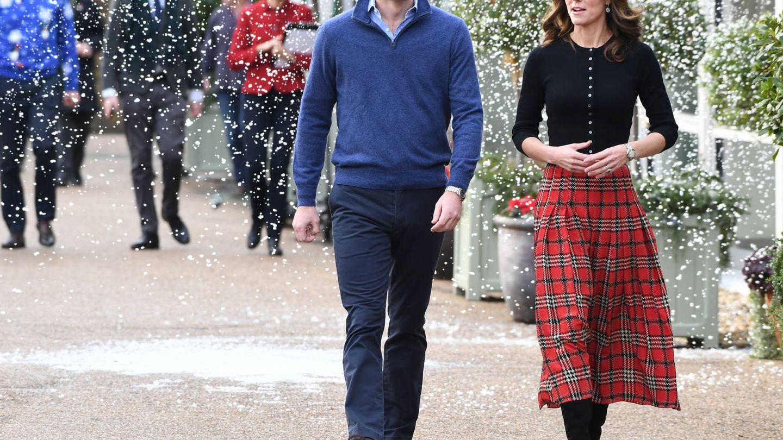 Los duques de Cambridge, en diciembre del año pasado. (Reuters)