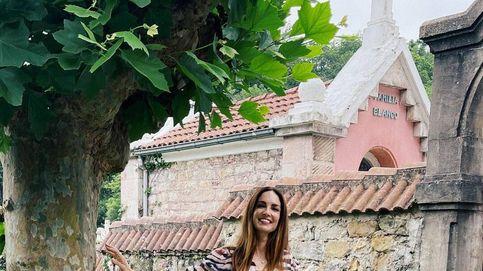 Eugenia Silva nos enamora con este vestido de Pedro del Hierro de las rebajas