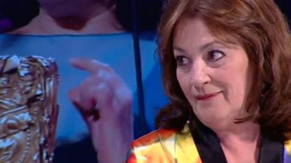 Los 'tiritos' de Carmen Maura a Pedro Almodóvar en 'El Hormiguero'