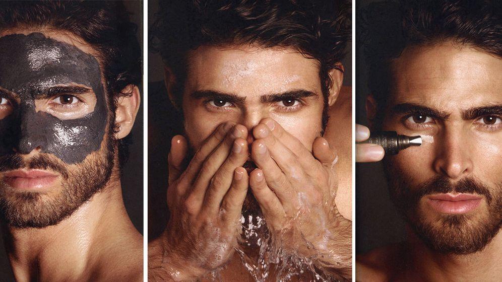 Foto: El modelo Juan Betancourt como imagen de la firma de cosmética masculina Tom Ford