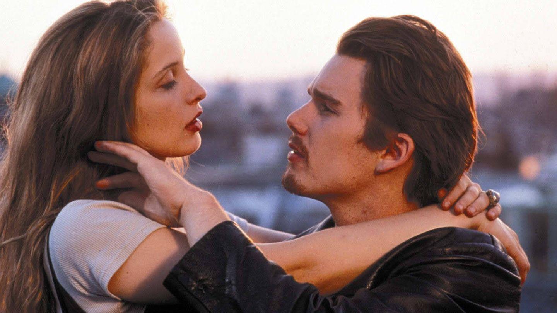 Ethan Hawke y Julie Delpy, en 'Antes del amanecer'.