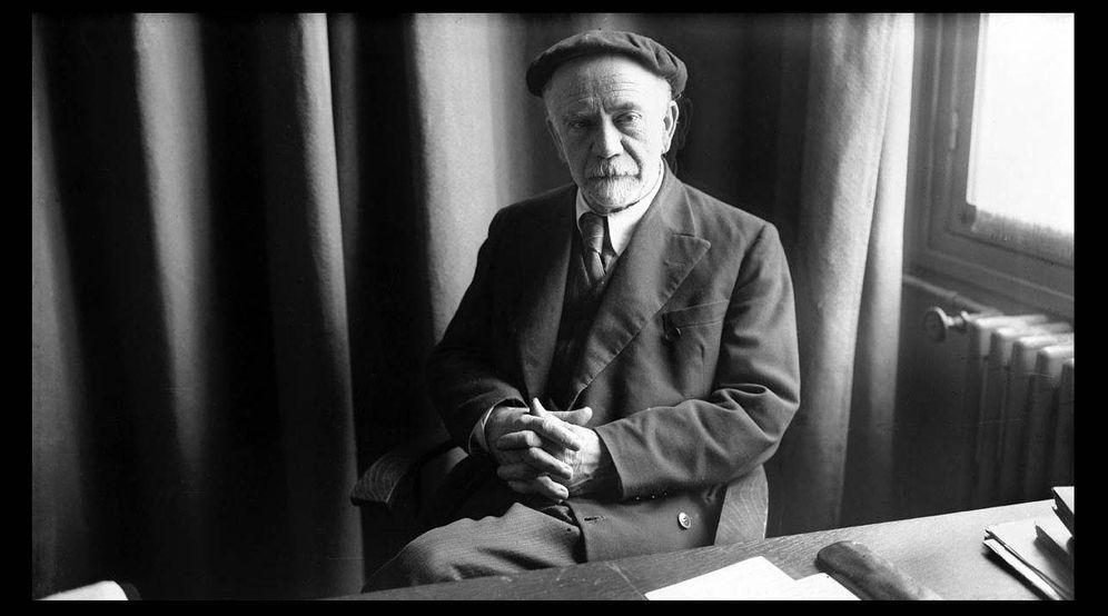 Foto: El escritor Pío Baroja.