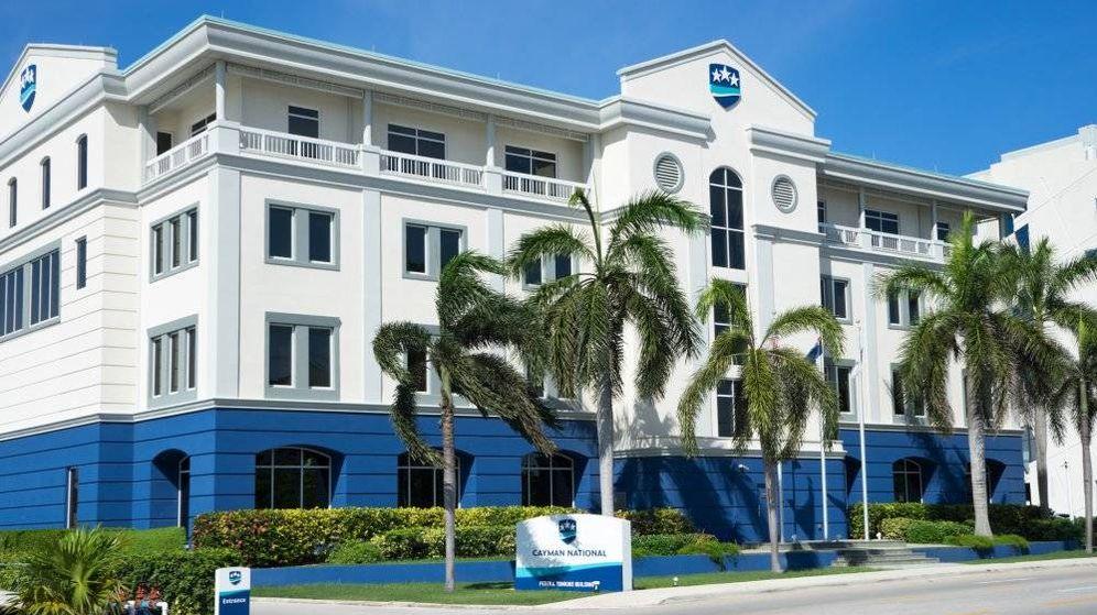 Foto: Sede del Banco Nacional de las Islas Caimán