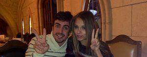 Fernando Alonso y Dasha Kapustina: cine, cena romántica y 'carrera' por las calles de Madrid