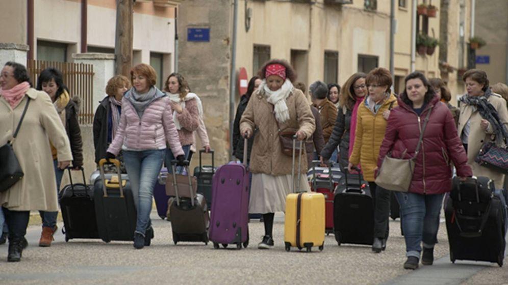 Foto: Las protagonistas de '7 días sin ellas'. (TVE)