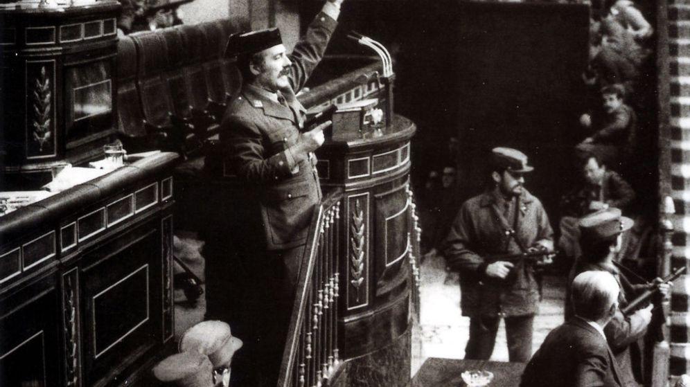 Foto: Intento de golpe de Estado de Tejero el 23 de febrero de 1981. (Archivo)