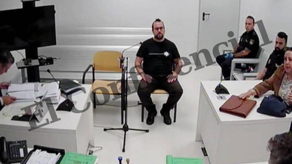 Foto: El CDR Ferran Jolis, declarando frente al juez. (Imagen: EC)