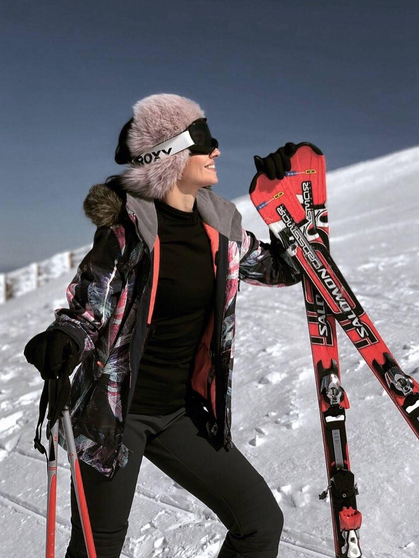 La pasión de la it girl Silvia Rodríguez es esquiar. (Cortesía Go Talents)