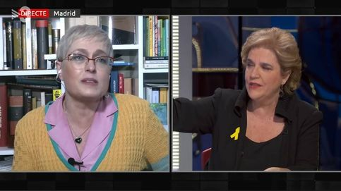Pilar Rahola pierde los papeles en TV3 por este comentario de Anna Grau