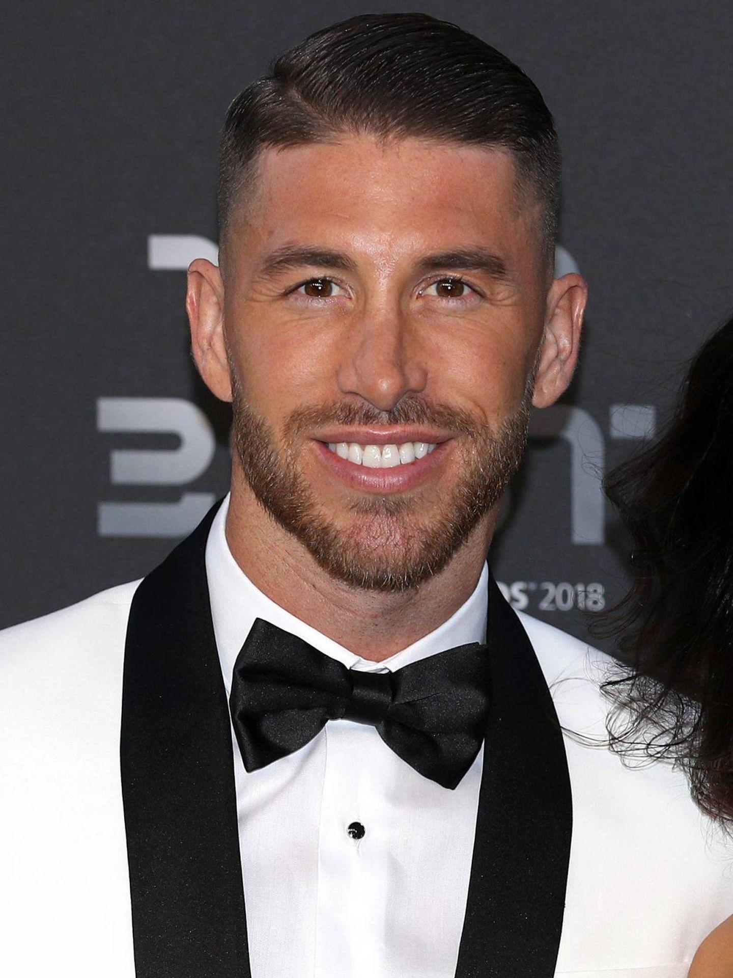 Sergio Ramos en los FIFA Football Awards de 2018. (Getty)