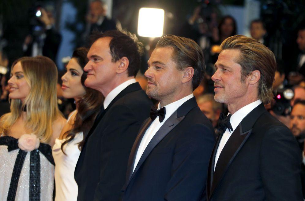 Foto: Tarantino, Pitt y DiCaprio, en la alfombra roja. (Reuters)