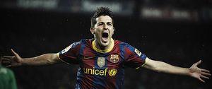 Foto: La Premier insiste y el Tottenham hace una oferta al Barcelona por David Villa