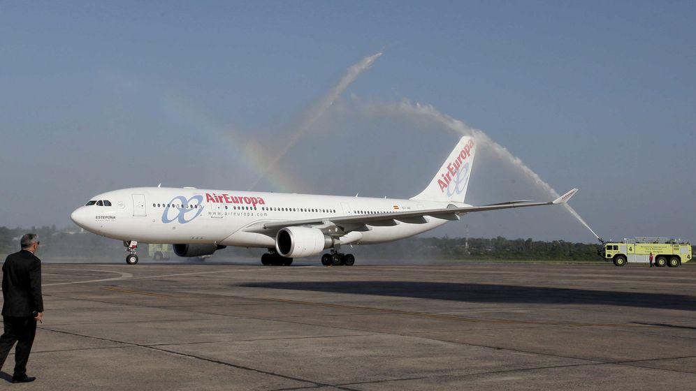 Foto: Foto de archivo de uno de los aviones de AirEuropa. (EFE)