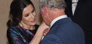 Post de Doña Letizia, todo flores en su encuentro con el príncipe Carlos en Londres