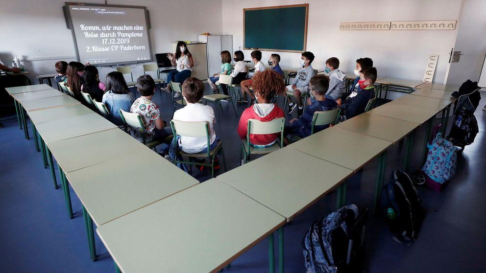 Grupos burbuja dentro y contagios fuera: los colegios se enfrentan a meses de cuarentena
