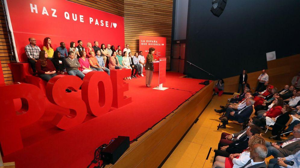 Foto: Mitin del PSOE. (EFE)