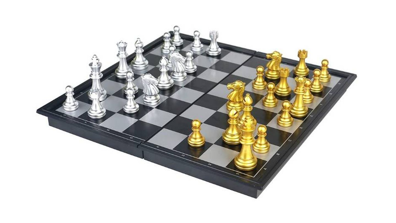 Tablero de ajedrez magnético Fajiabao
