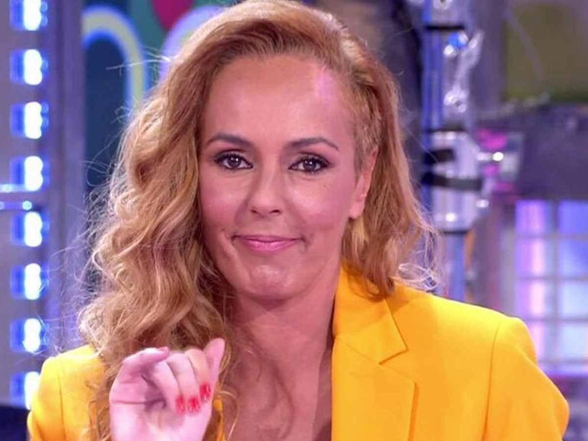 Foto: Rocío Carrasco, en 'Sálvame'. (Telecinco)