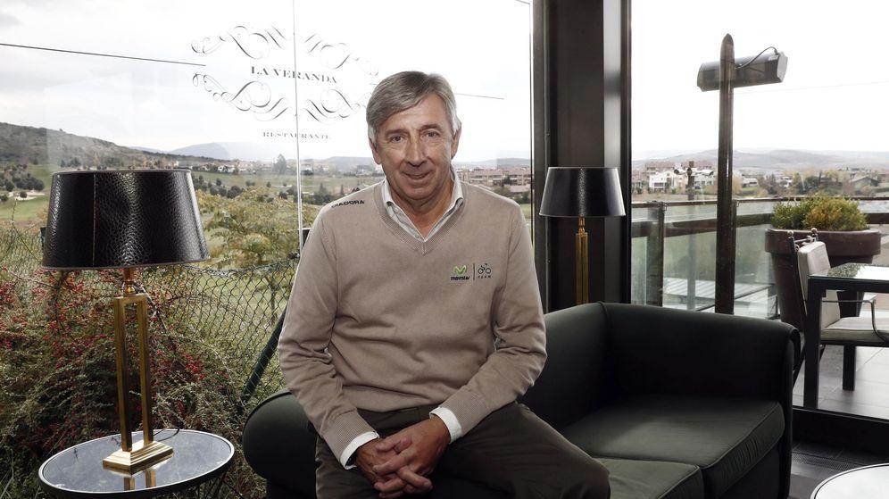Foto: Eusebio Unzué, manager del Movistar Team. (EFE)