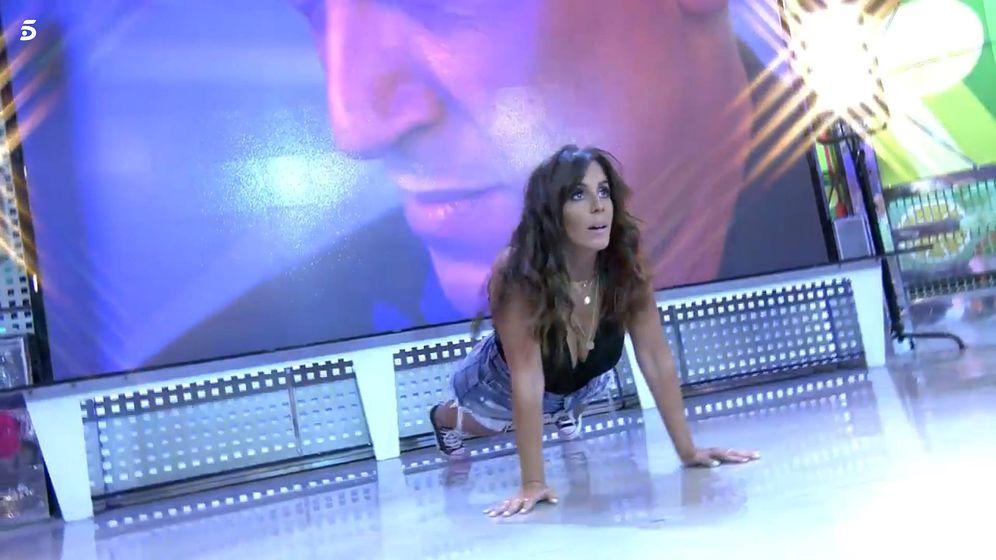 Foto: Anabel Pantoja, en 'Sálvame diario'. (Telecinco)