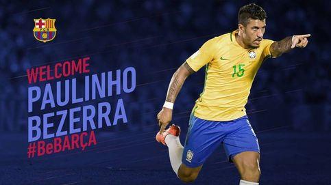 El Barcelona anuncia el fichaje de Paulinho