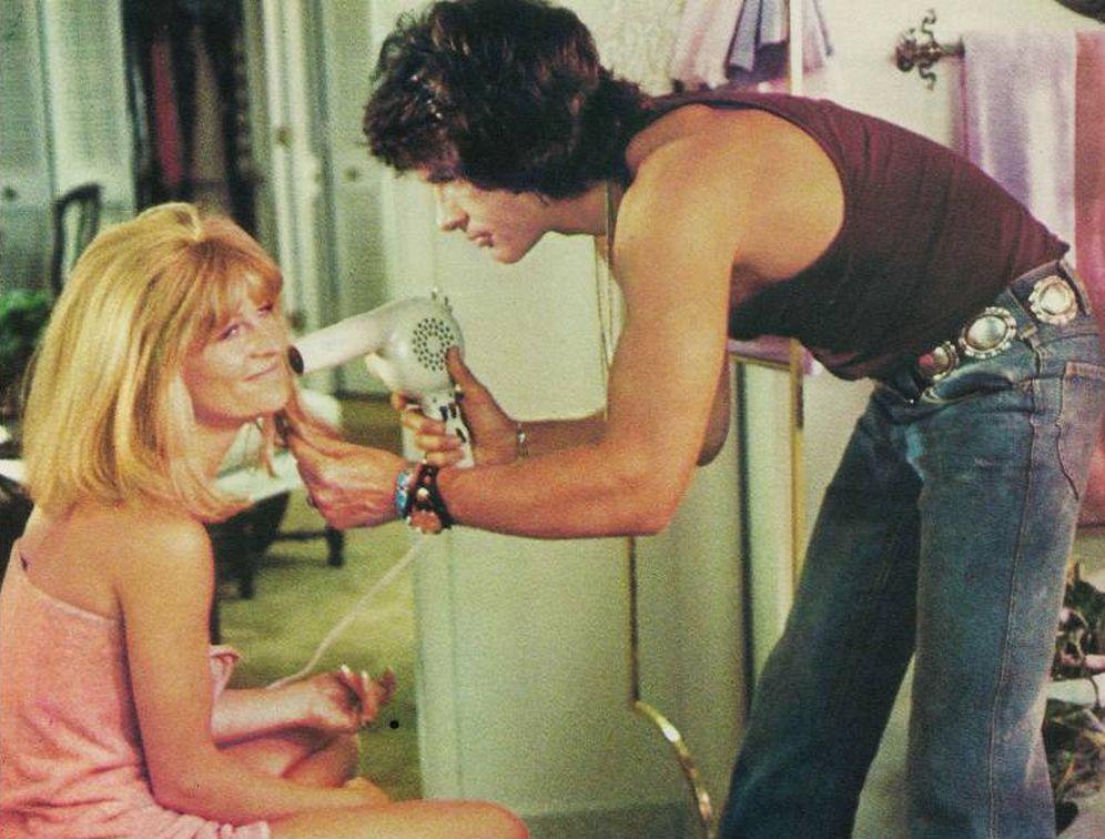 Foto: Warren Beatty sí sabía qué hacer con tu pelo (Imagen: película Shampoo)
