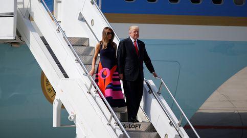 Melania Trump, bloqueada en su alojamiento por los disturbios del G20