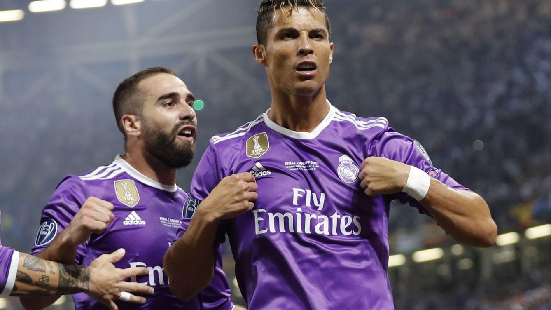 Cristiano Ronaldo logra el gol 500 del Real Madrid en Champions