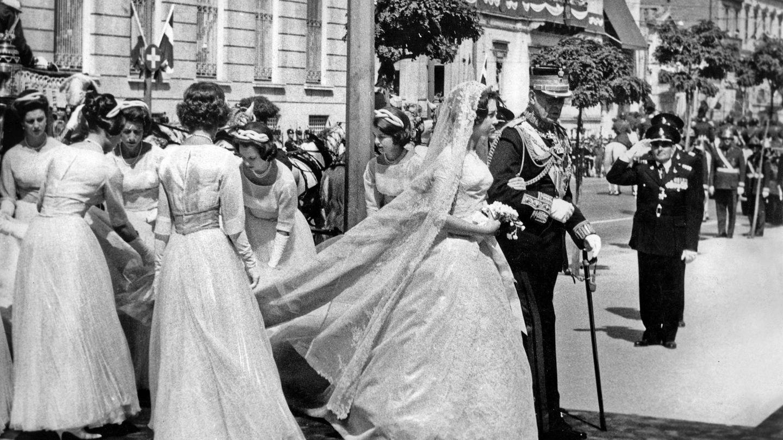 El abuelo de Jaime Álvaro fue padrino en la boda de doña Sofía y don Juan Carlos, en 1962, en Atenas. (CP)