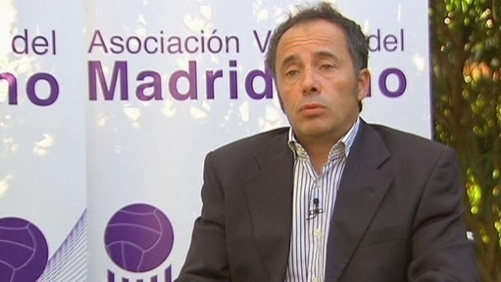 Foto: Carlos Mendoza, presidente de Valores del Madridismo