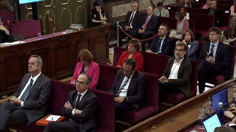 Juicio del 'procés', en directo   Torra se va de la Sala durante el alegato final de Santi Vila