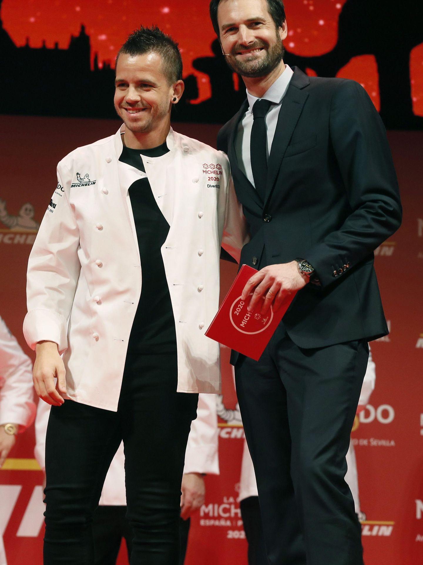 Dabiz Muñoz renovó sus tres estrellas Michelin en 2020. (EFE)