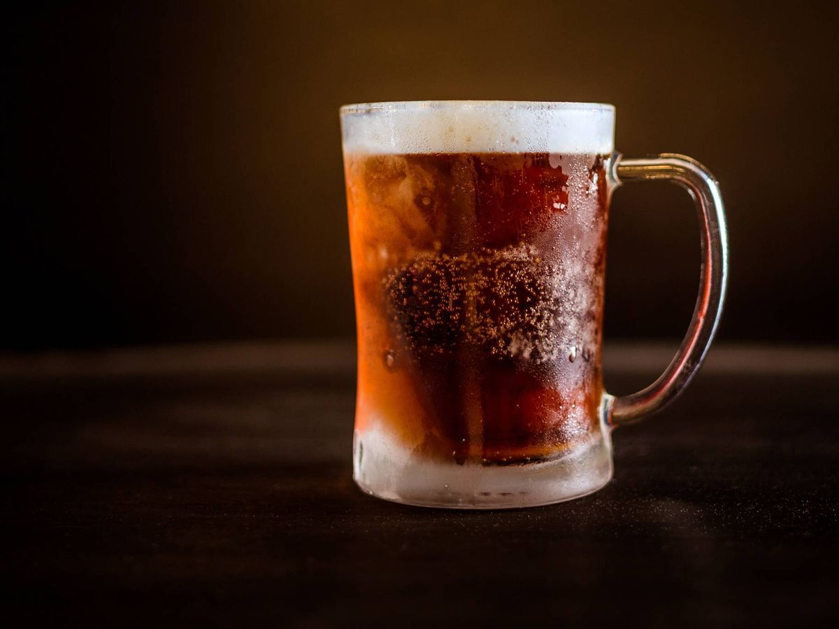 Foto: Jarra de cerveza bien fresca.