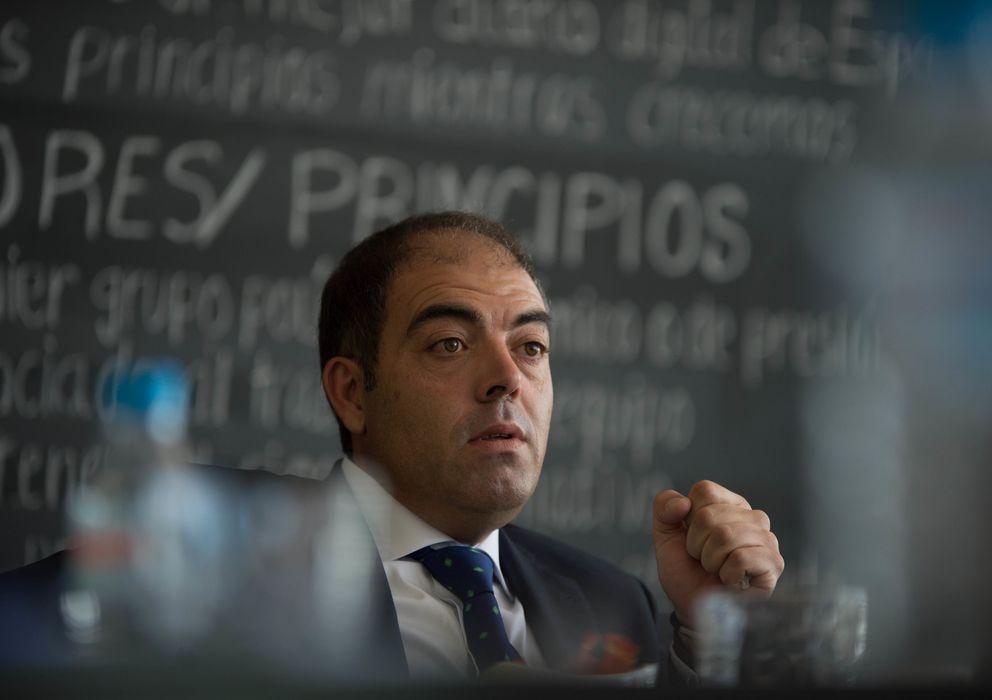 Foto: Lorenzo Amor, presidente de la Asociación de Trabajadores Autónomos (Pablo López Learte)