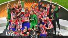 Griezmann regala al Atlético de Madrid la tercera Europa League con un doblete