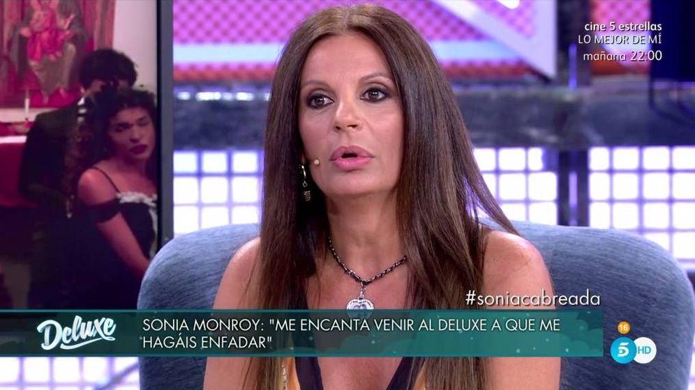 Foto: Sonia Monroy, en 'Sábado Deluxe'. (Telecinco).