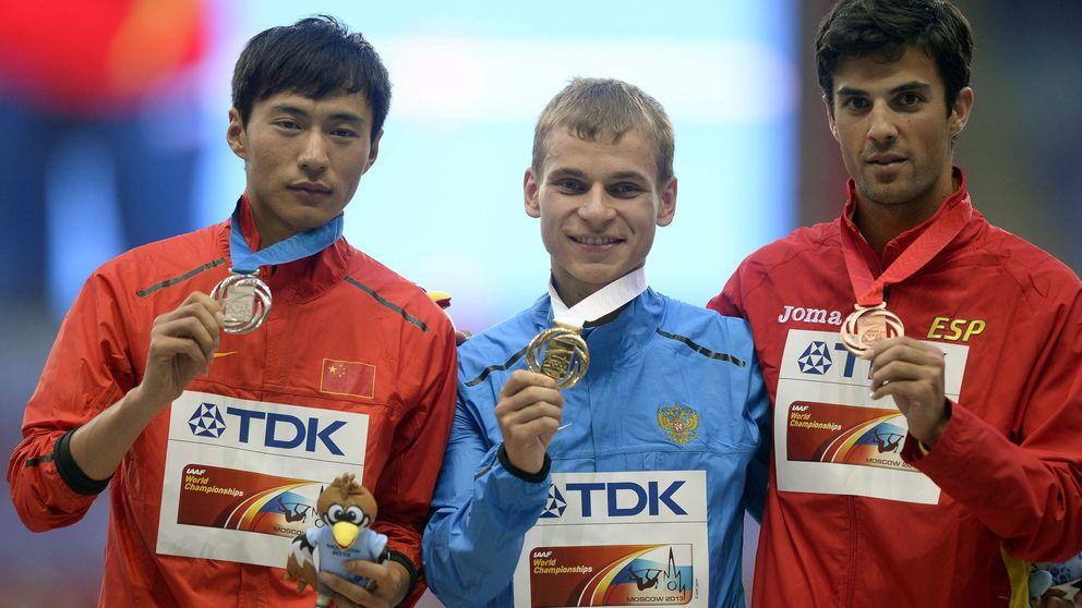 Miguel Ángel López, del bronce a la plata en el Mundial 2013 por dopaje de un atleta ruso